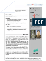 MeasurIT Flexim ADM7207 Project NVV 0809