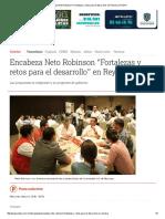 05-11-2016 Encabeza Neto Robinson _Fortalezas y Retos Para El Desarrollo_ en Reynosa