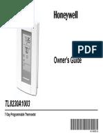 Honeywel TL8230 Manual