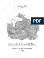 South Orange Library Coloring Book