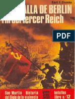 [Editorial San Martin - Batallas nº12] La batalla de Berlín [Spanish e-book][By alphacen].pdf