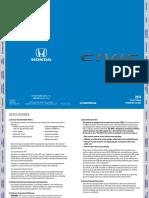 Honda Civic Sedan 2016 - manual
