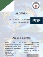 JL 2015 Algebra