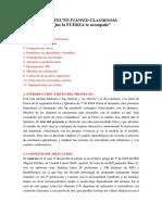 PROYECTO FLIPPED CLASSROOM (Física y Química 3º ESO) Leticia Cabezas