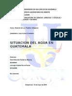 Situación Del Agua en Guatemala