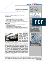 MeasurIT Flexim ADM7407 Project Facility Service 0910