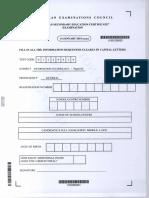 CSEC IT Jan 2015 Paper 2
