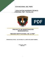 Ezcurra Pnp - Investigacion