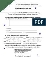 2016 festival sponsor form