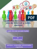conflictos derivados del mal uso de internet y redes sociales