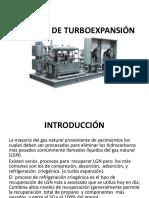 Proceso de Turboexpansionn