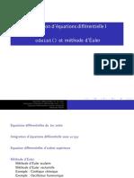 Equa Diff 01Informatique, Les equations differentielles