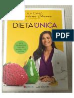 Livro Dieta Unica