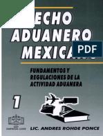 derecho aduanero mexicano