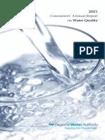 RWA Water Quality Report 2015