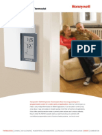 Honeywell - TL8100 Programmable Hydronic Thermostat