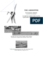 AirHopper - a Free-Flight Model Airplane (Glider)