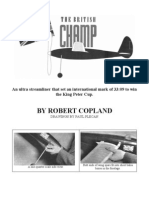 Champ - a Free-Flight Model Airplane