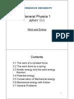 WorkandEnergy Theory