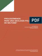 Araya-Carrión Prolegómenos Para Una Geología Política de Neltume