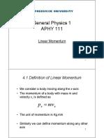 LinearMomentum Theory