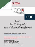 Reglas Becas Joel f Magruder