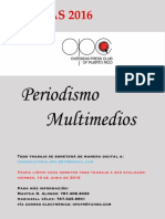 REGLAS PERIODISMO MULTIMEDIOS