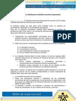 Estudio de Caso Clasificacion de La Actividad Economica Empresarial 14 7