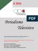 Reglas Periodismo Televisivo 2016