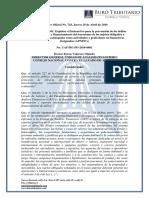 RO# 743 - Expídese Instructivo Para Prevención de Delitos de La UAF (28 Abril 2016)