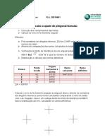 Sequencia de Cálculos e Ajuste de Poligonal Fechada02