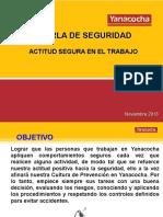 11. Noviembre 2013 - Actitud Segura en El Trabajo