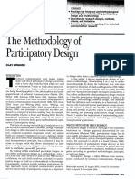 Spinuzzi the Methodology of Participatory Design