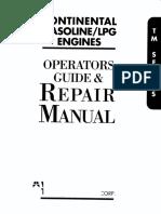 Guía de Mantenimiento Motor Continental