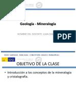 Geología - Mineralogía 1