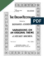 -Archer Variations on an Original Theme