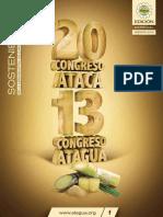 Revista Congreso ATACA y ATAGUA