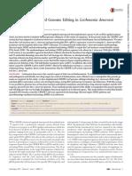 CRISPR-Cas9-Mediated Genome Editing in L Donovani