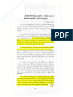 Laclau , Mistisismo Retorica y Politica ( Articulo Sobre El Estudio de La Ideologia)