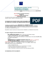 Traducere How to Fill in Your Reservation File