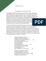 Informe de Lectura I Sobre Egloga I