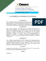Decreto 33-2003
