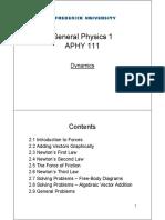 Dynamics Theory