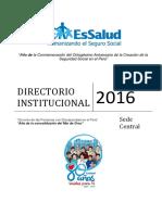 DIRECTORIO Sede Central