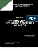 Apuntes de Introduccion a Los Registros Geofisicos de Pozos