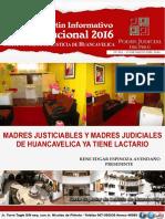 Boletin Informativo Institucional 2016 - CSJ HUANCAVELICA