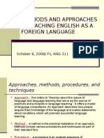 methods approaches     efl