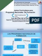 DIAPOSITIVA PNF CONSTRUCCION CIVIL Y Ley del Plan de la Patria Segundo Plan Socialista de Desarrollo Económico y Social de la Nación 2013-2019
