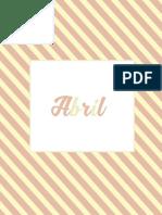 6 - Planner 2016 - Abril