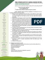 Kriteria Free Paper & Poster PIT PERDOSRI 2016